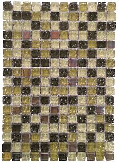 Мозаика Bars Crystal Mosaic Микс 15х15х8