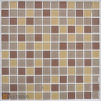 Мозаика Bars Crystal Mosaic Миксы 23х23х4